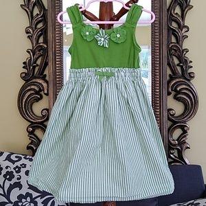 Gymboree girl's dress.  Floral gem accent. Size 4